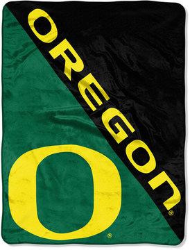 Northwest Company Oregon Ducks Micro Raschel 46x60 Halftone Blanket