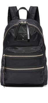 Marc Jacobs Nylon Biker Backpack - BLACK - STYLE