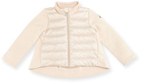 Moncler Maglia Quilted and Puffer Jacket, Size 12 Months-3T