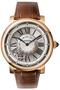 Cartier Rotonde de Astrotourbillon 18 kt Rose Gold Men's Watch