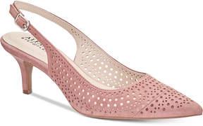 Alfani Women's Step 'N Flex Brezee Slingback Pumps, Created For Macy's Women's Shoes