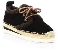 See by Chloe Glyn Suede Espadrille Sneakers