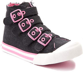 Rocket Dog Black Weekend Jaimme Hi-Top Sneaker - Girls