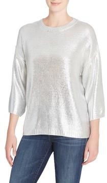 Catherine Malandrino Women's Spence Crewneck Sweater