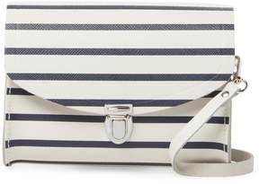 The Cambridge Satchel Company Women's Leather Stripes Crossbody Bag