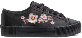 H&M Embroidered Sneakers