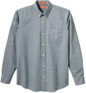Joe Fresh Men's Button-Front Oxford Shirt, JF Jag Green (Size XL)