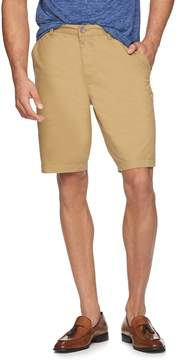Marc Anthony Men's Slim-Fit Twill Flat-Front Shorts