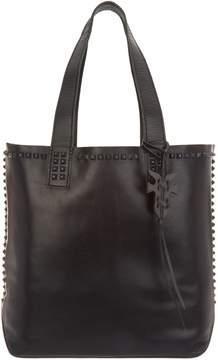 Frye Leather Carson Mono Stud Tote