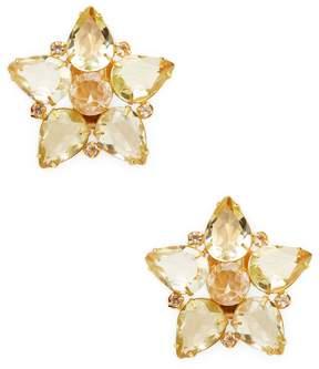 Bounkit Women's Quartz Star Stud Earrings