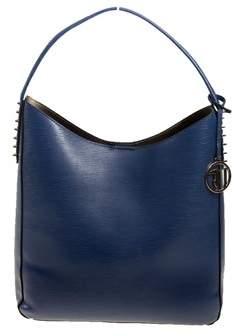 Trussardi Women's Blue Polyurethane Shoulder Bag.