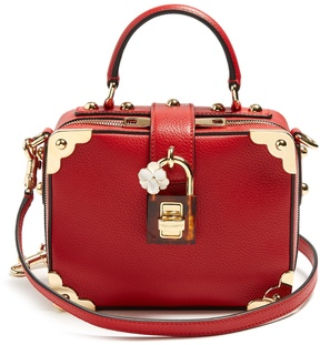 DOLCE & GABBANA Dolce Soft grained-leather box bag