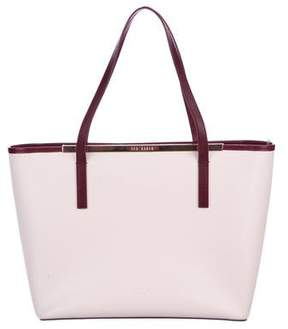 Ted Baker Leather Colorblock Tote