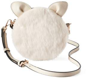 Lauren Conrad Petit Faux Fur Critter Crossbody Bag