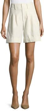 Co High-Waist Cuffed Shorts