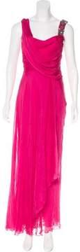 Matthew Williamson Silk Maxi Dress
