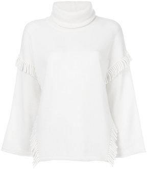 Blumarine roll neck sweater