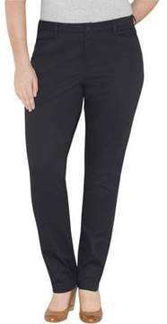 Dickies Genuine Women's Plus-Size Classic Tapered Pants