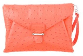 Rafe Embossed Angeline Clutch