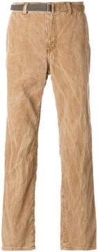 Sacai crinkle washed trousers