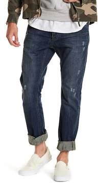 One Teaspoon Distressed Straight Tapered Leg Jeans