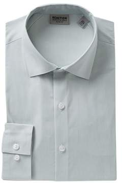Kenneth Cole Reaction Slim Fit Solid Dress Shirt