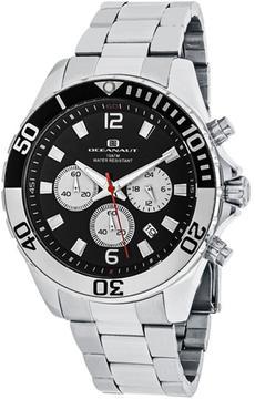Oceanaut Sevilla OC2524 Men's Round Silver Stainless Steel Watch