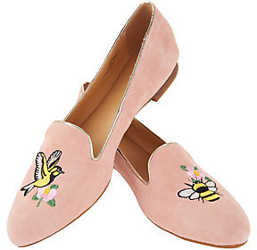 C. Wonder As Is Birds & Bees Suede Loafers - Clarissa