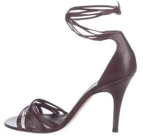 Loewe Leather Multistrap Sandals