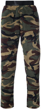 Faith Connexion fleece camouflage trousers