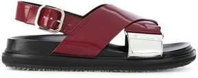 Marni crossover sandals