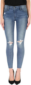 Black Orchid Noah Frayed Ankle Skinny Jeans