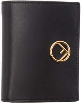 Fendi Black Small Logo Wallet