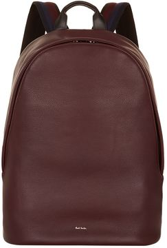 Paul Smith Leather Oval Backpack