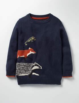 Boden Wild Adventure Crew Sweater