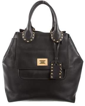 Emilio Pucci Studded Leather Tote