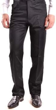 Gianfranco Ferre Men's Black Cotton Pants.