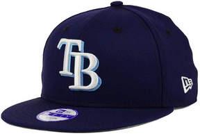 New Era Boys' Tampa Bay Rays Major Wool 9FIFTY Snapback Cap