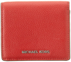 MICHAEL Michael Kors Mercer Leather Card Case - ONE COLOR - STYLE