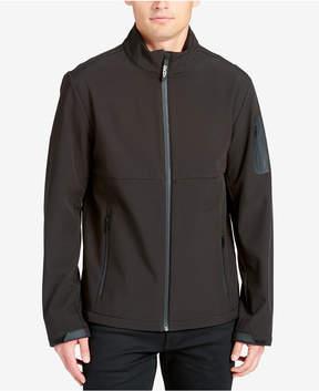DKNY Men's Mixed-Media Performance Jacket