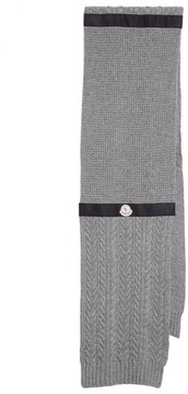 Moncler Men's Textured Wool & Cashmere Scarf