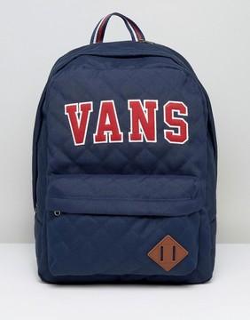 Vans Old Skool Backpack In Blue