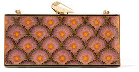 Kotur Empire Levin Printed Acrylic Clutch