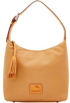Dooney & Bourke Patterson Leather Paige Sac Shoulder Bag - FAWN - STYLE