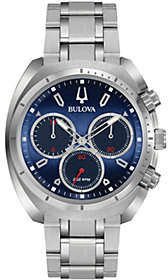 Bulova Men's CURV Stainless Chronograph Watch