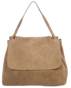 The Row Suede Top Handle 14 Bag
