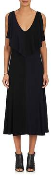 Derek Lam Women's Split-Sleeve Crepe Midi-Dress