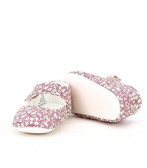 Edgehill Collection Baby Girls Mary Jane Bootie Shoes Made with Liberty Fabrics