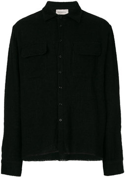 Laneus classic flap pocket shirt