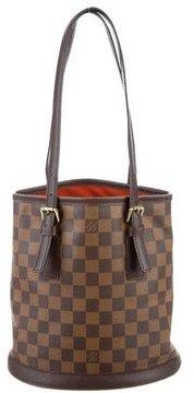 Louis Vuitton Damier Ebene Petit Bucket Bag - BROWN - STYLE